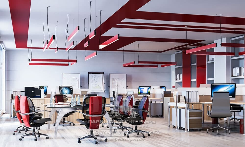 Open Space в современном офисе