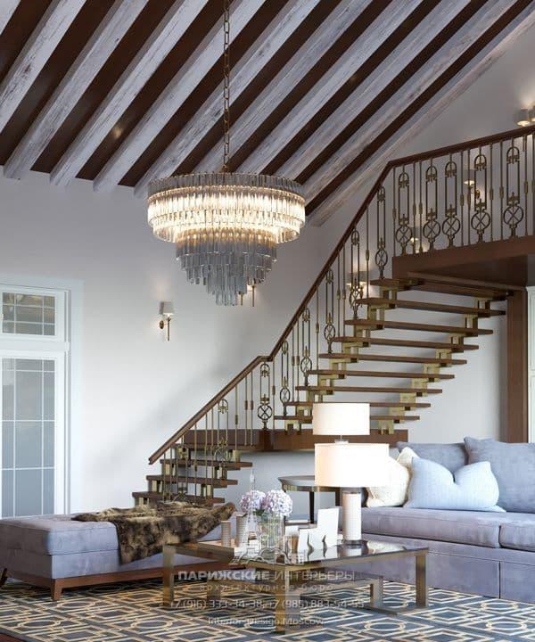 Идеи дизайна гостиной в классическом стиле