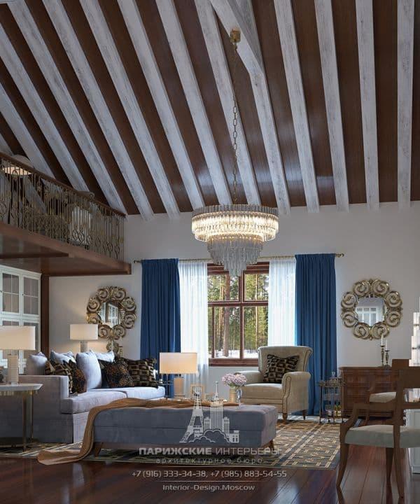 Фото дизайна гостиной в классическом стиле