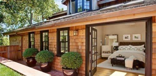 Оформление небольшого частного дома