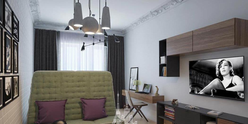 Дизайн комнаты в парижском стиле