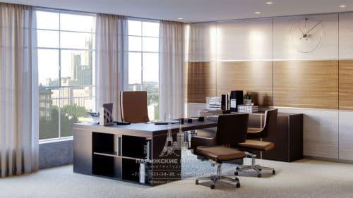 Дизайн офиса в современном стиле. 24 фото