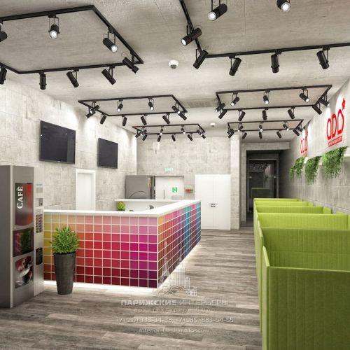 Дизайн офиса для молодой креативной компании