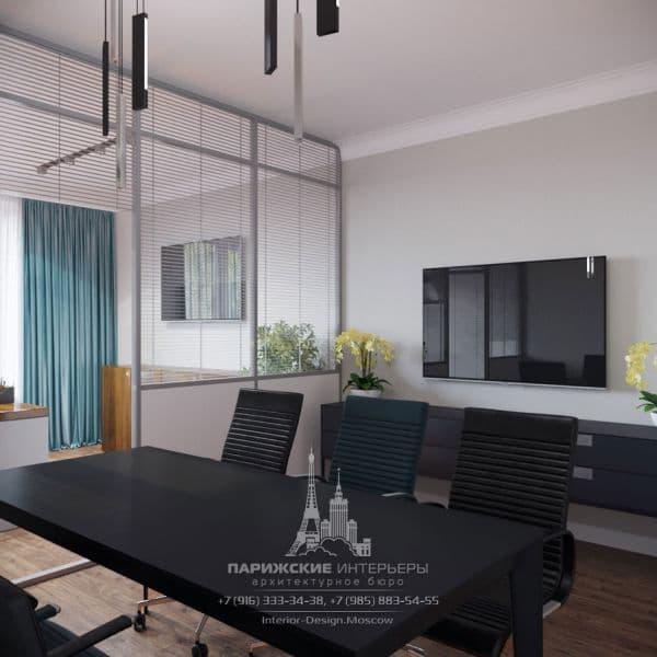 Дизайн современного офиса. Фото 2018