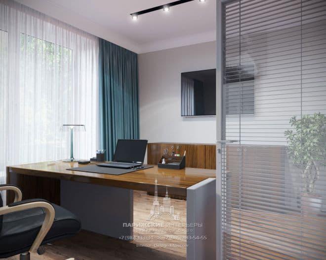 Дизайн небольшого офиса в современном стиле