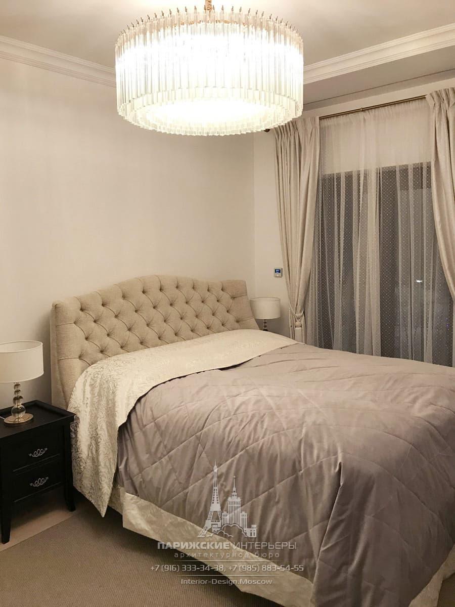Вот так выглядит уже готовая спальня