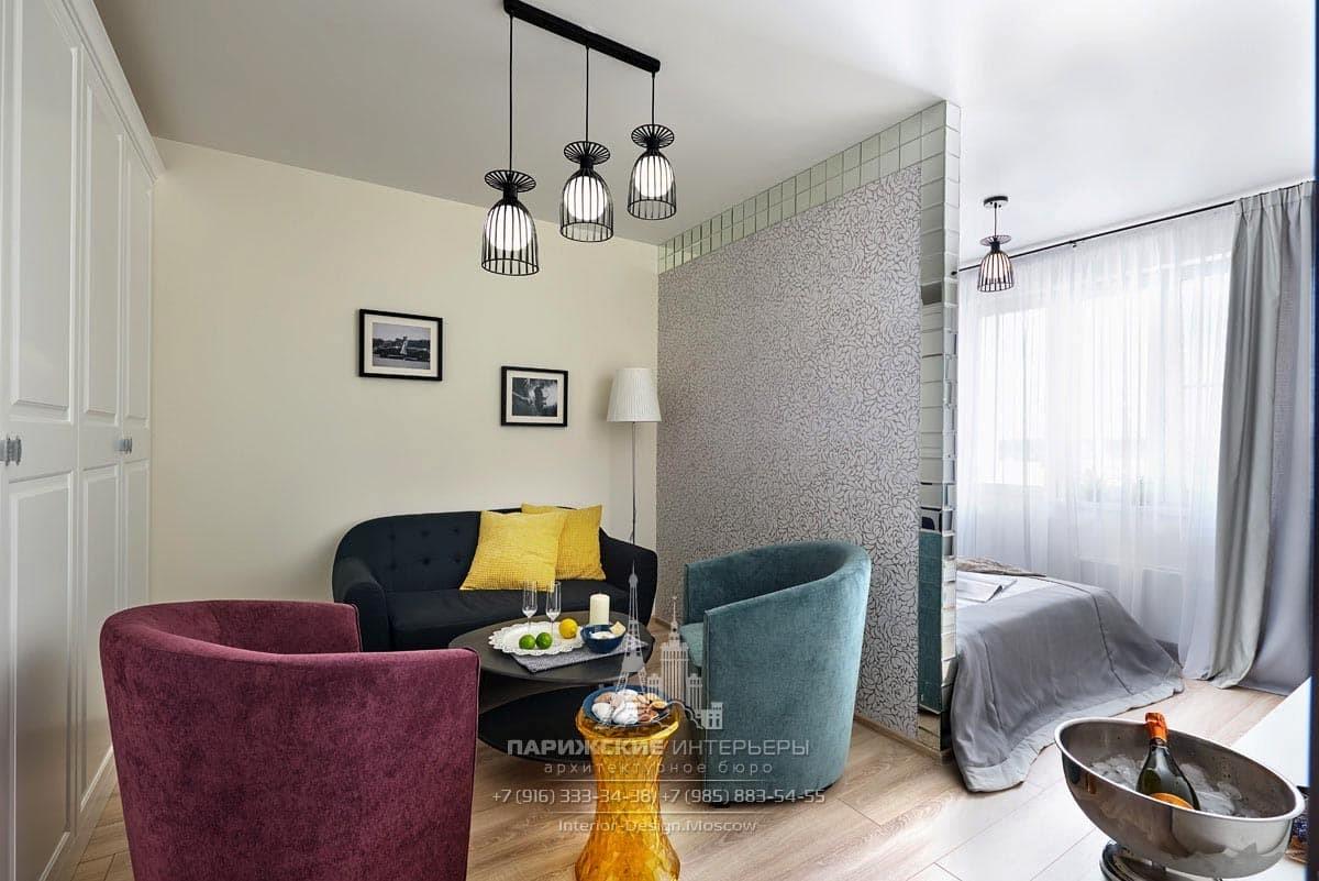 Дизайн небольшой квартиры в современном стиле