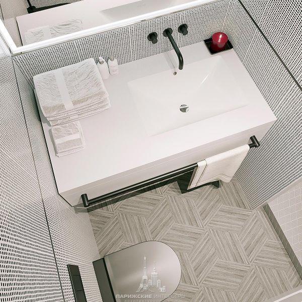 Дизайн ванной комнаты в гостиничном номере
