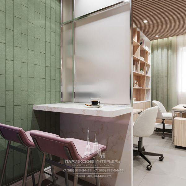 Дизайн интерьера комнаты для индивидуальных занятий в психологическом центре
