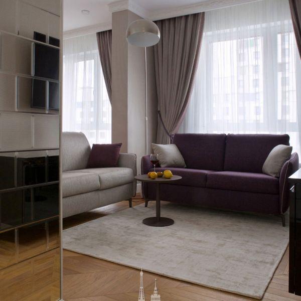 Дизайн интерьера гостиной. Фото 2019