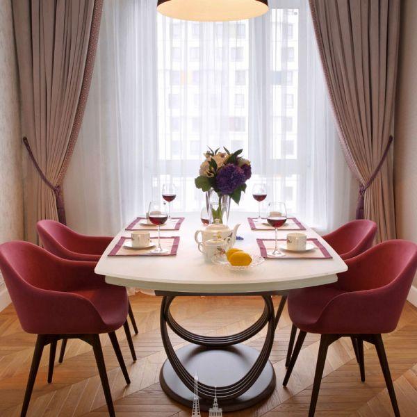 Дизайн интерьера столовой зоны в квартире
