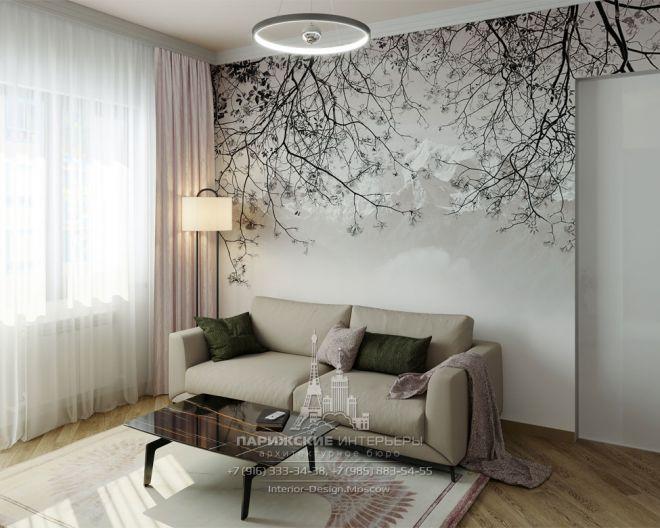 Эргономика и лаконичность: дизайн 3-комнатной квартиры в современном стиле