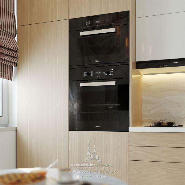 Дизайн интерьера кухни в маленькой квартире