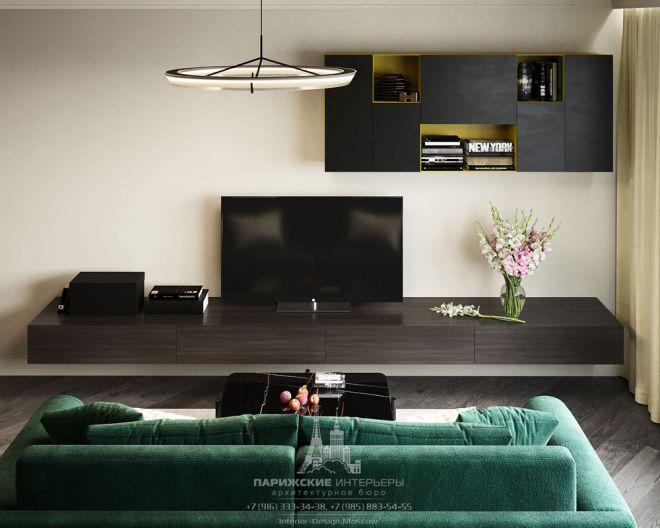 Дизайн двухуровневой квартиры для семьи с тремя детьми