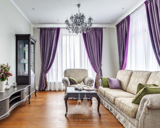 Аристократическая атмосфера. Дизайн 3-комнатной квартиры в стиле неоклассика
