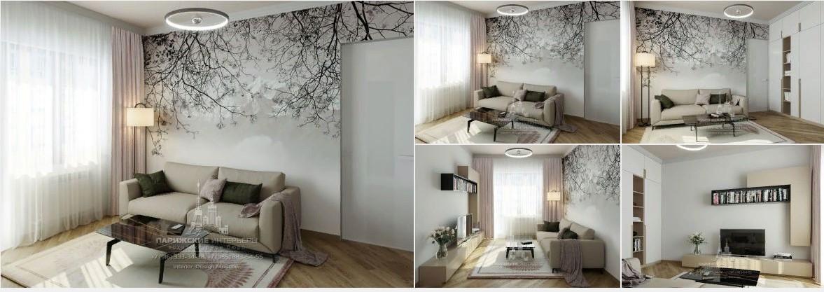 Дизайн 3-комнатной квартиры в современном стиле