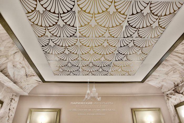 Потолок в стиле ар-деко