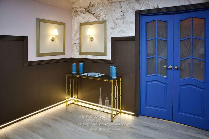 Фазенда. Дизайн интерьера цокольного этажа