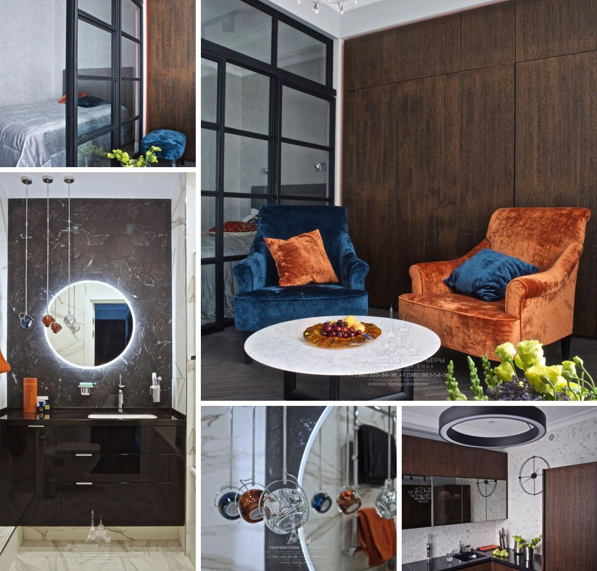 Пример подбора мебели и декора дизайнером