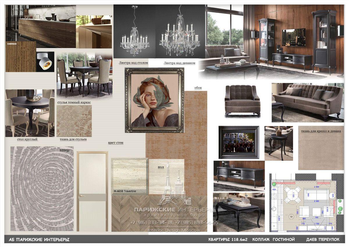 Подбор мебели и декора для гостиной в темных тонах с дворцовыми люстрами